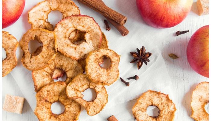 Пряні Яблучні чіпси